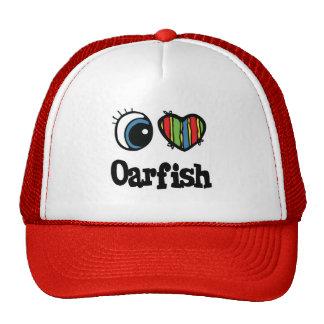 I Love (Heart) Oarfish Trucker Hat