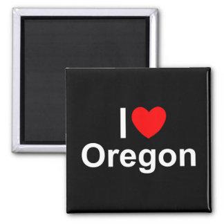 I Love (Heart) Oregon Magnets