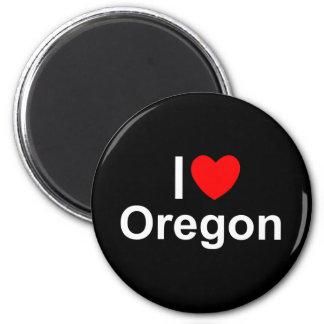 I Love (Heart) Oregon Fridge Magnet