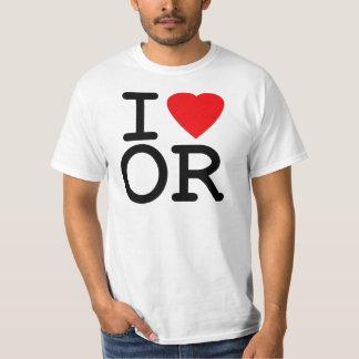 I Love Heart Oregon T-Shirt