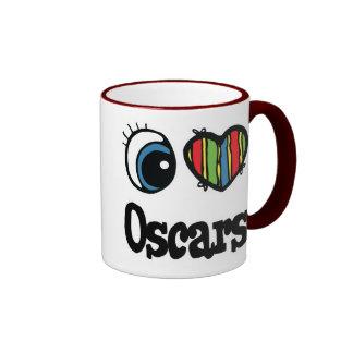 I Love (Heart) Oscars Ringer Coffee Mug
