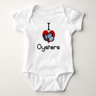 I love-heart oysters tshirts