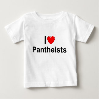 I Love (Heart) Pantheists Baby T-Shirt