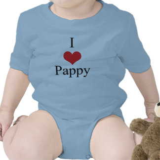 I Love Heart Pappy Tshirts