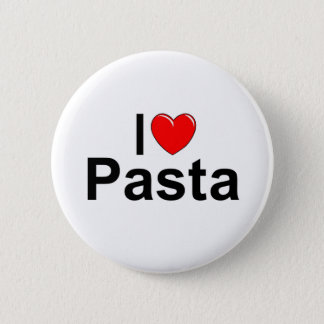 I Love (Heart) Pasta Pinback Button
