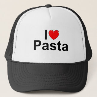 I Love (Heart) Pasta Trucker Hat