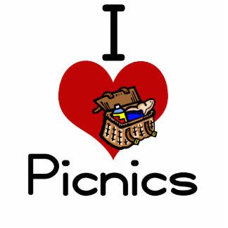 I love-heart picnic cut out