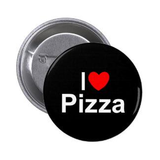 I Love (Heart) Pizza Pinback Button