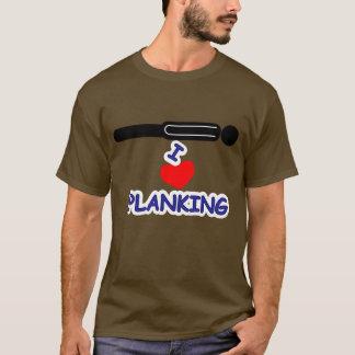 I Love (Heart) Planking T-Shirt