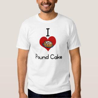 I love-heart poundcake tee shirt