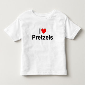 I Love (Heart) Pretzels Toddler T-shirt