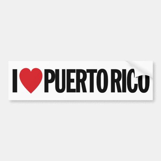 I love heart puerto rico 11 28cm vinyl decal