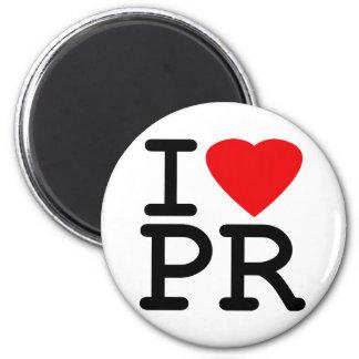 I Love Heart Puerto Rico Magnet