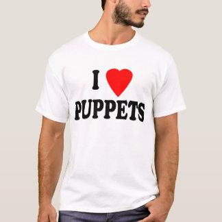 I LOVE (HEART) PUPPETS T-Shirt