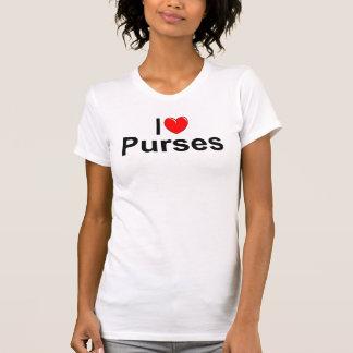 I Love (Heart) Purses T-Shirt