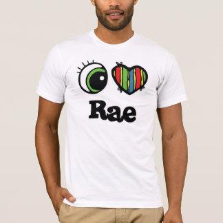 I Love (Heart) rae T-Shirt