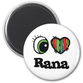 I Love Heart Rana Magnet
