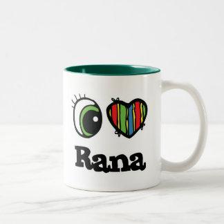 I Love Heart Rana Coffee Mugs