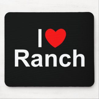 I Love (Heart) Ranch Mouse Pad