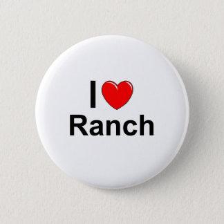 I Love Heart Ranch Pinback Button