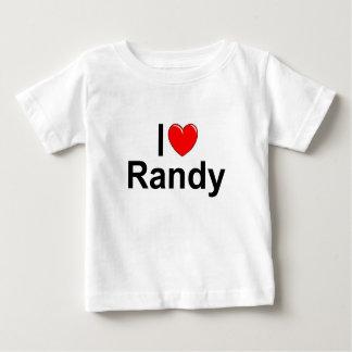 I Love (Heart) Randy Baby T-Shirt