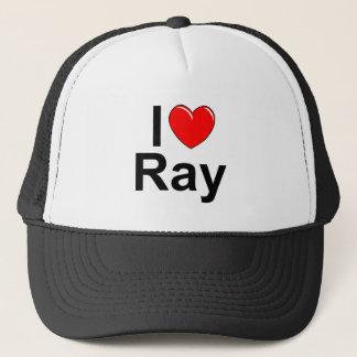 I Love (Heart) Ray Trucker Hat