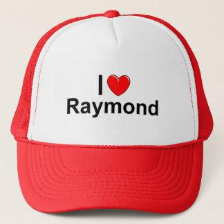 I Love (Heart) Raymond Trucker Hat