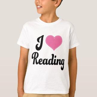 I Love (Heart) Reading T-Shirt
