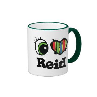 I Love (Heart) Reid Ringer Coffee Mug