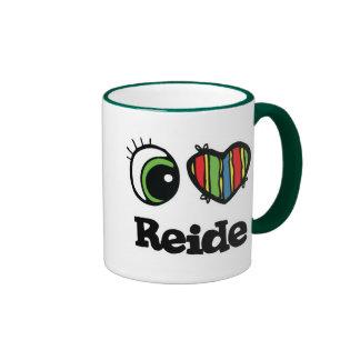 I Love (Heart) Reide Ringer Coffee Mug