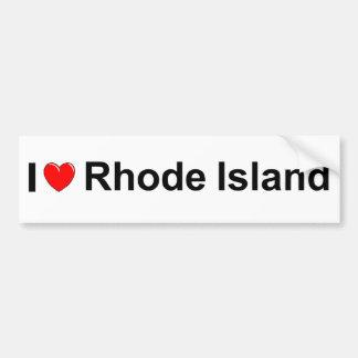 I Love (Heart) Rhode Island Bumper Stickers