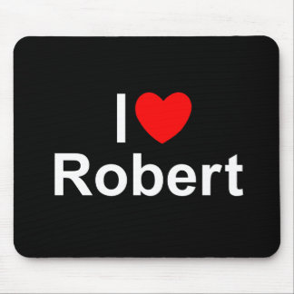 I Love (Heart) Robert Mouse Pad