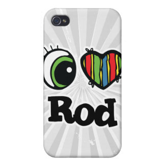 I Love (Heart) Rod iPhone 4/4S Cases
