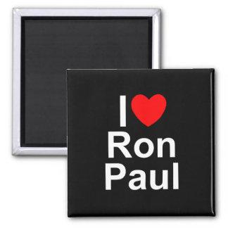 I Love (Heart) Ron Paul Magnet