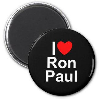 I Love (Heart) Ron Paul Fridge Magnets