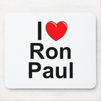 I Love (Heart) Ron Paul Mouse Pad