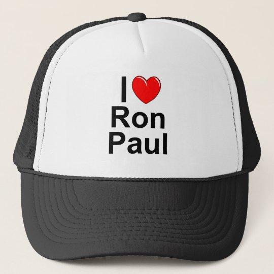 I Love (Heart) Ron Paul Trucker Hat