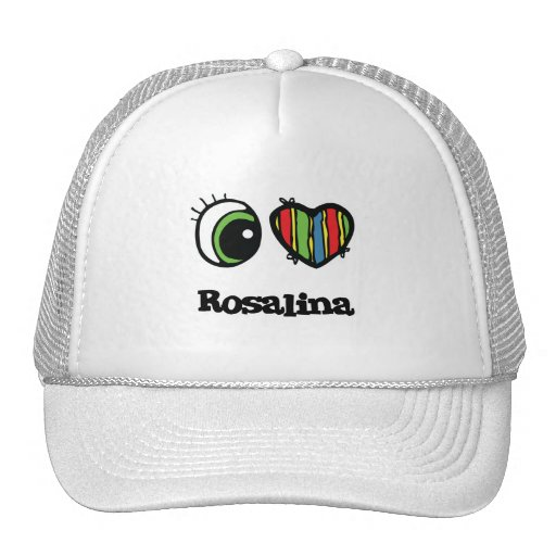 I Love (Heart) Rosalina Trucker Hat