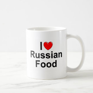 I Love (Heart) Russian Food Coffee Mug