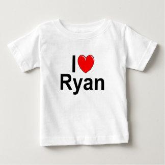 I Love (Heart) Ryan Baby T-Shirt