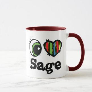 I Love (Heart) Sage Mug