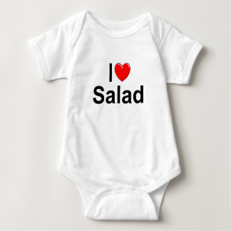 I Love (Heart) Salad Baby Bodysuit