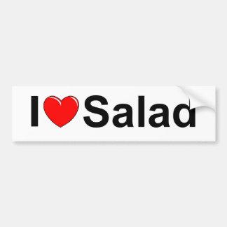 I Love (Heart) Salad Bumper Sticker