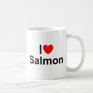 I Love (Heart) Salmon Coffee Mug