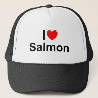 I Love (Heart) Salmon Trucker Hat