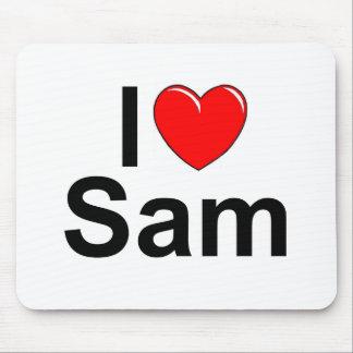Pics For > I Love Sam Logo