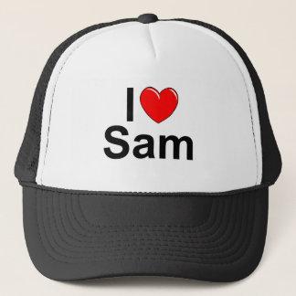 I Love (Heart) Sam Trucker Hat