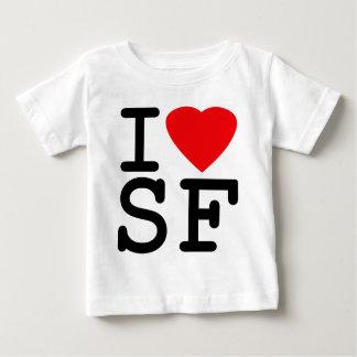 I Love Heart San Francisco Baby T-Shirt