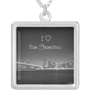 I love (heart) San Francisco Necklace