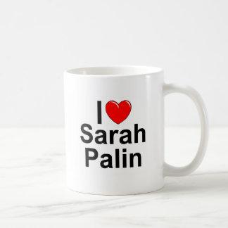 I Love (Heart) Sarah Palin Coffee Mug